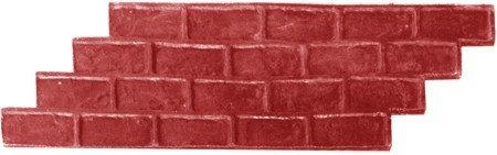 RM-18 Molde Ladrillo a soga / Running bond brick.