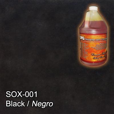 SPG® Oxidante para concreto Negro. (Galón)