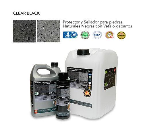 CLEAR BLACK Sellador para piedras (20 lts).