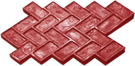 RM-19 Molde Ladrillo en petatillo / Herringbone brick.
