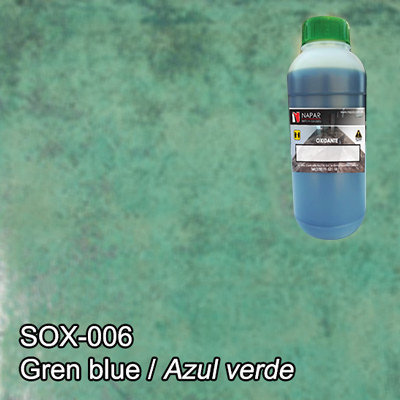 SPG® Oxidante para concreto Azul Verde (LT)