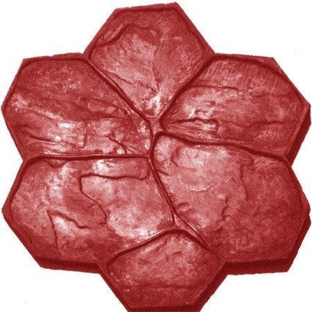 RM-26 Molde P. Acom. (delgada) / Flower rock (thin).