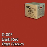 SPG® Desmoldante en Polvo Rojo Oscuro (5 kgs)