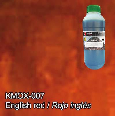 Oxidante para Concreto Rojo Inglés Kemiko (Lt).