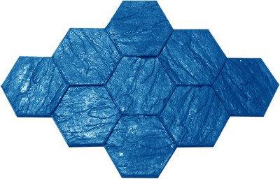AM-30 Molde Adoquín hexag. 30cm / Hexagon slate.