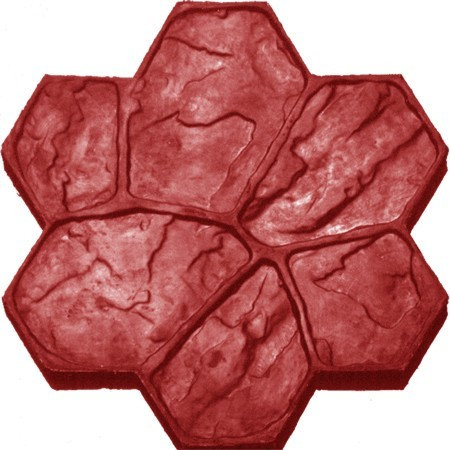 RM-25 Molde Piedra acomodada / Flower rock.