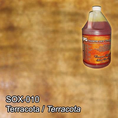 SPG® Oxidante para concreto Terracota. (Galón)