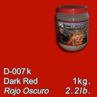 SPG® Desmoldante en Polvo Rojo Oscuro 1kg