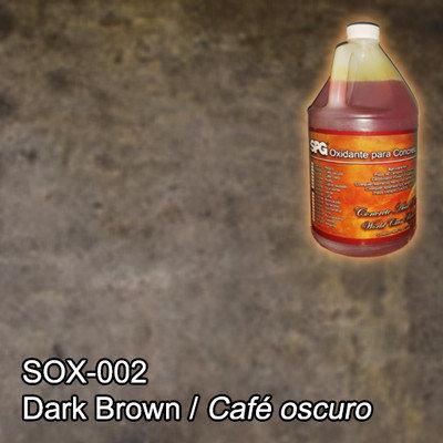 SPG® Oxidante para concreto Café oscuro. (Galón)