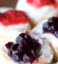 Blueberry Mini Cinnamon Roll, and Starwb