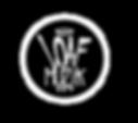 Loaf Muzik Black Shirt logo.png
