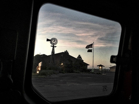 First Night:  Comanche Grasslands Ranger Station