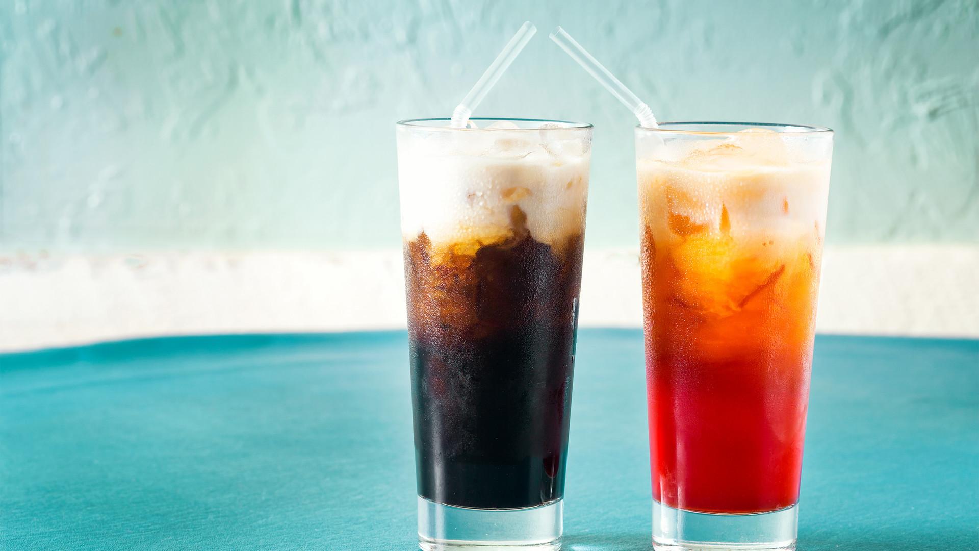 Thai Iced Tea & Thai Iced Coffee