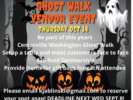 Be Part of the Historic Ghost Walk!