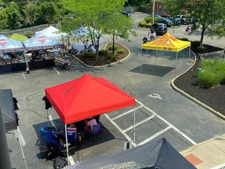 Great Vendor Village at Americana Fest