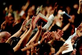 GATHERING TOGETHER IN PRAYER AND HIGH PRAISE; Will it ever again be the same?