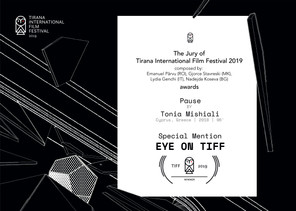 Special Mention EYE ON TIFF!