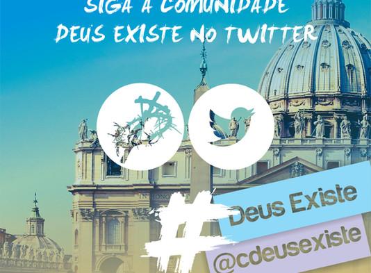 Fique por dentro das novidades no Twitter - @cdeusexiste
