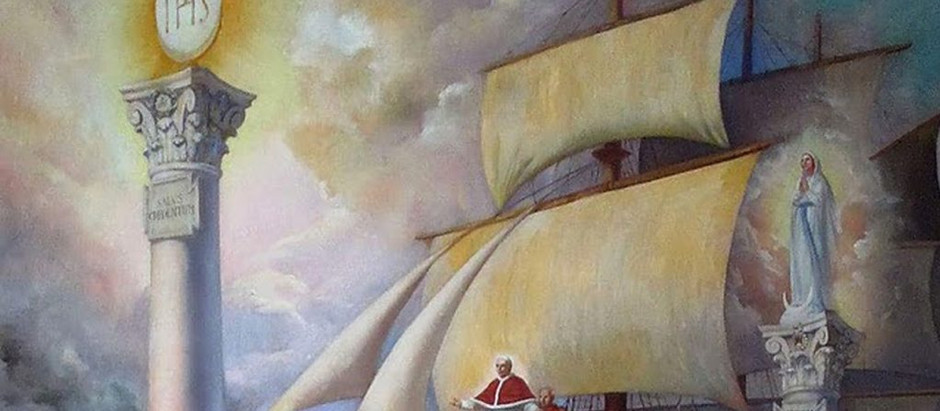 Dom Bosco e a profética visão das duas torres que sustentam a Igreja