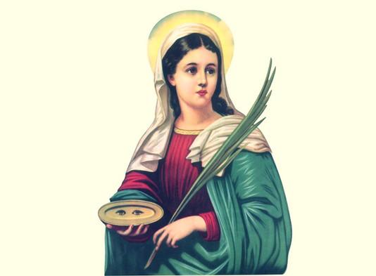 Reze a oração a Santa Luzia, protetora dos olhos