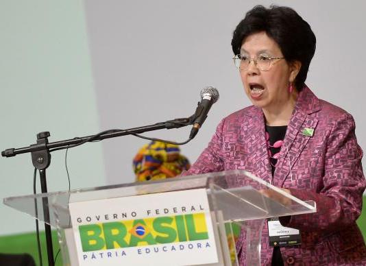Diretora-geral da OMS chega hoje ao Brasil para discutir combate ao Zika