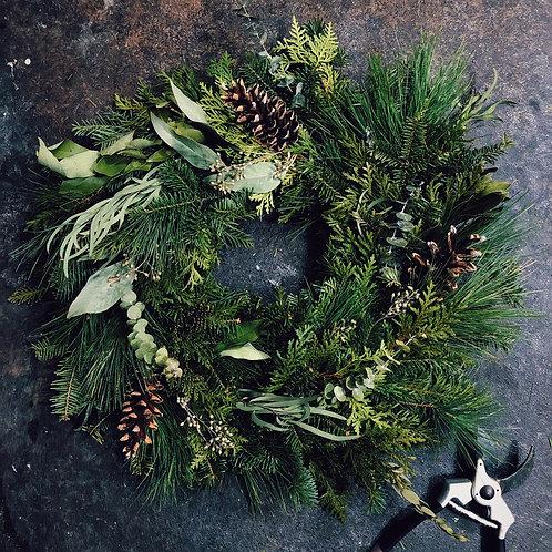 "Large Wreath 18"""