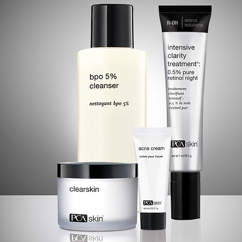 The Acne Control Regimen 60-day usage set