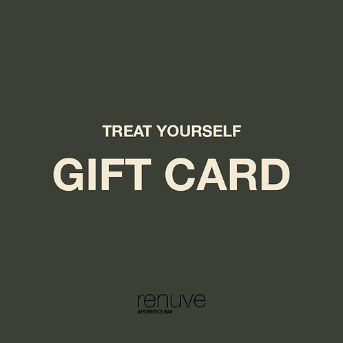 RENUVE GIFT CARD (Tarjeta de regalo)