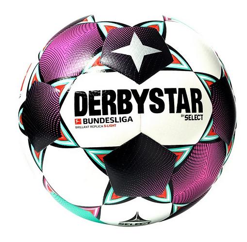 DERBYSTAR Bundesliga 2020/2021 Brilliant sLight 290gr. 1316-20