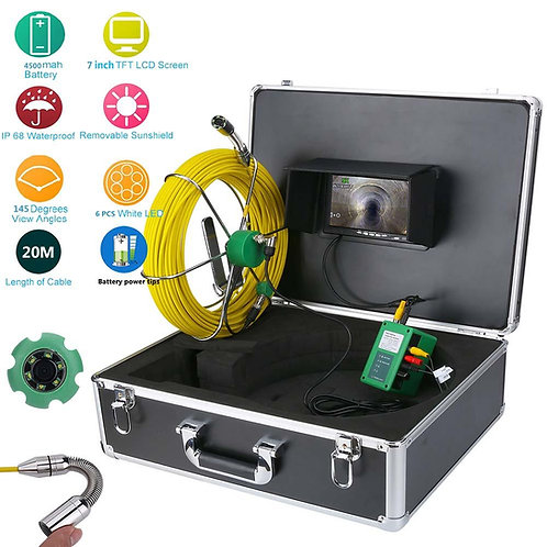 Caméra d'inspection canalisation