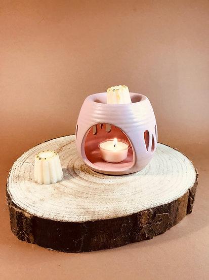 Brûleurs à fondants pastel rose ou gris