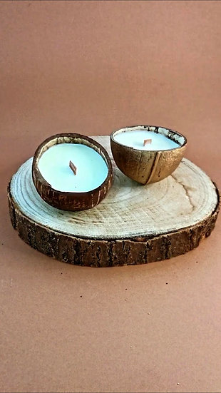 Bougie mini coconut