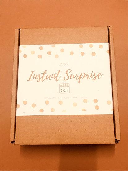 """Grande BOX bougies Octobre """"Mon Instant Surprise"""""""