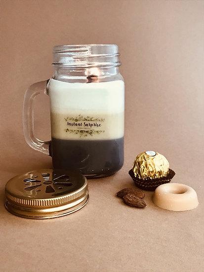 Bougie Jarre café latte trio de parfums