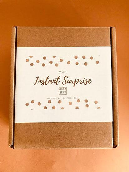 """Grande BOX bougies Septembre """"Mon Instant Surprise"""""""