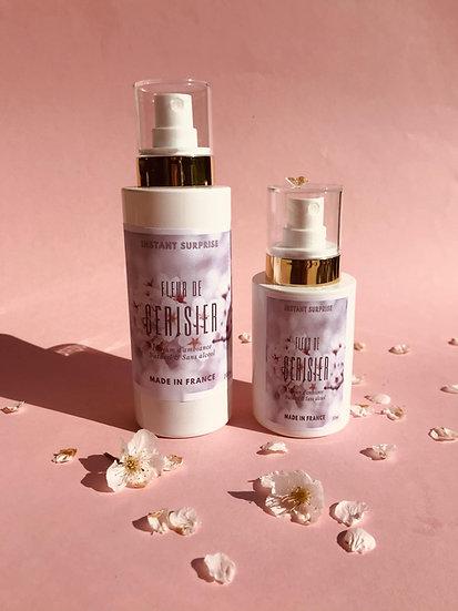 Spray d'ambiance Fleur de cerisier naturel et rechargeable