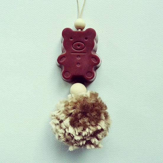 Suspension parfumée ourson brun