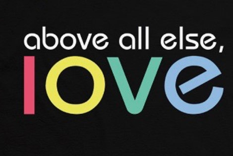 "FreedHearts ""Above All Else, Love"" Shirt!"
