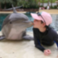 kelly with dolphin.jpg