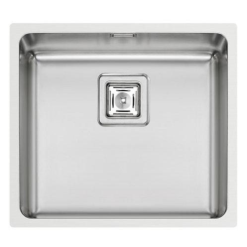 Zlewozmywak stalowy podwieszany Lume 45x40 1-komorowy PYRAMIS