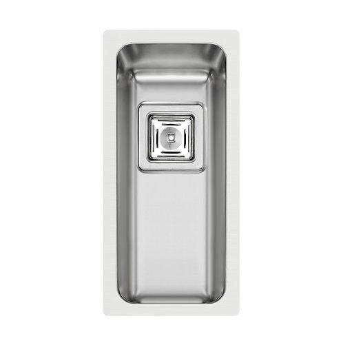 Zlewozmywak stalowy podwieszany Lume 17x40 1-komorowy PYRAMIS