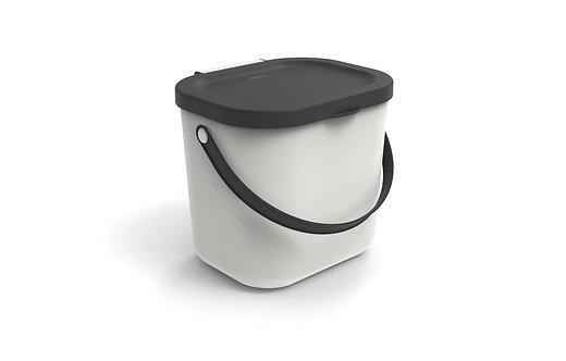 Pojemnik do segregacji odpadów 6L ALBULA biały ROTHO