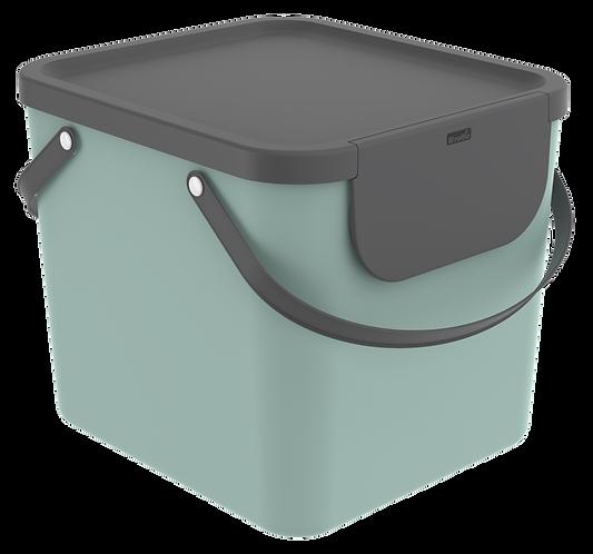 Pojemnik do segregacji odpadów 40L ALBULA zielony ROTHO