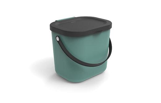 Pojemnik do segregacji odpadów 6L ALBULA zielony ROTHO