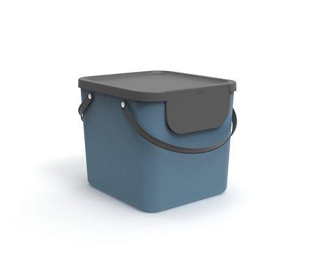 Pojemnik do segregacji odpadów 40L ALBULA niebieski ROTHO
