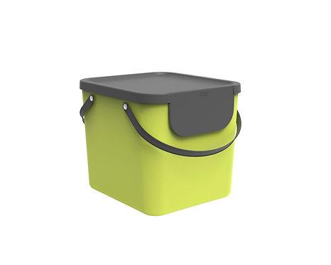 Pojemnik do segregacji odpadów 40L ALBULA limonka ROTHO