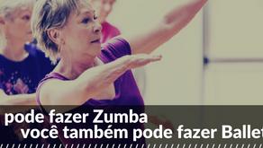Se você pode fazer Zumba, você também pode fazer Ballet