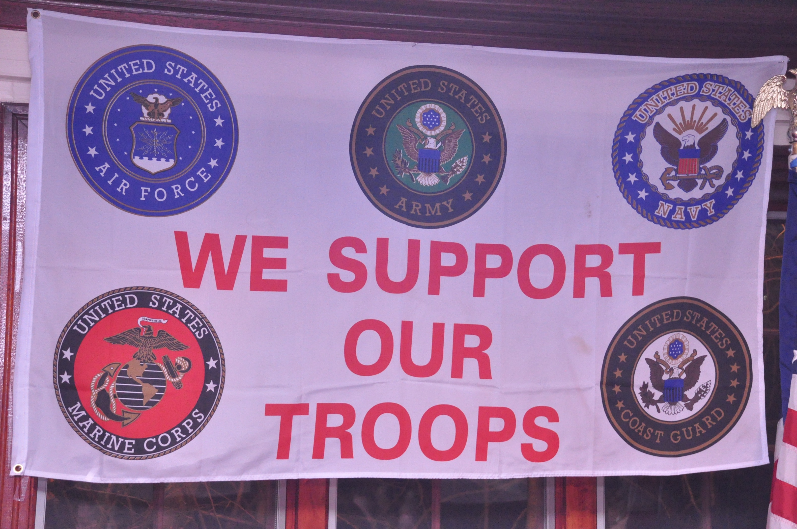 we Support our Troops 122015