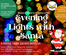 Evening Lights with Santa - Facebook pos