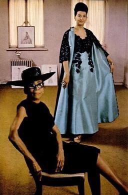 Ann Lowe pictured in Ebony magazine in 1966.